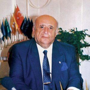 PRESIDENT SULEYMAN DEMIREL OF TURKEY