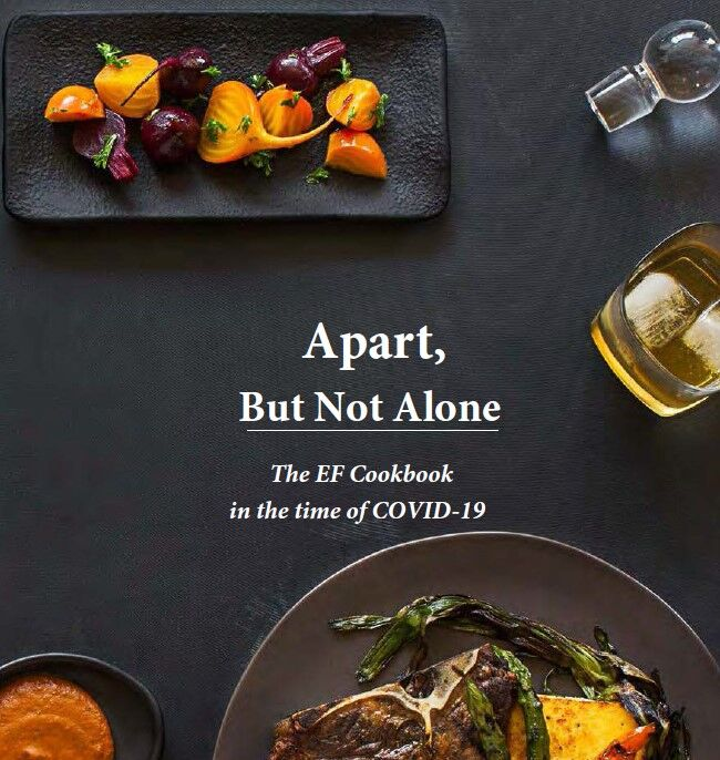 Apart, But Not Alone The EF Cookbook in the time of COVID-19